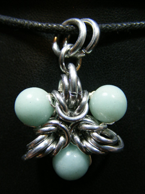amazonite elf star pendant