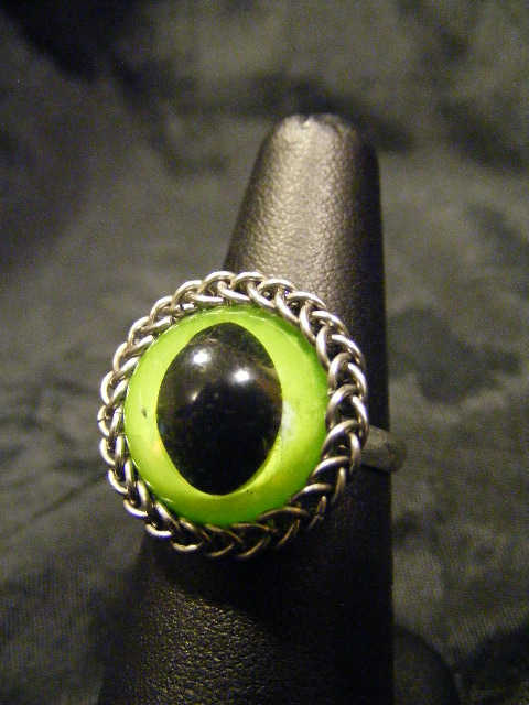cats eye ring in persian