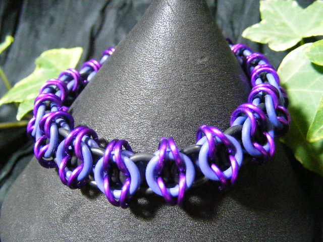 celtic visions stretchy in purple