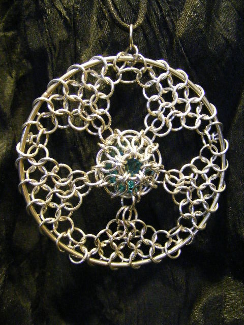 chainmail sun catcher