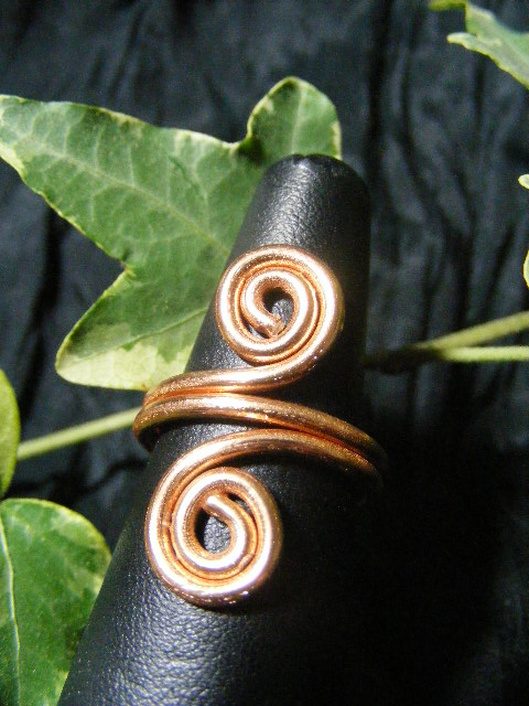 copper aluminum spiral ring