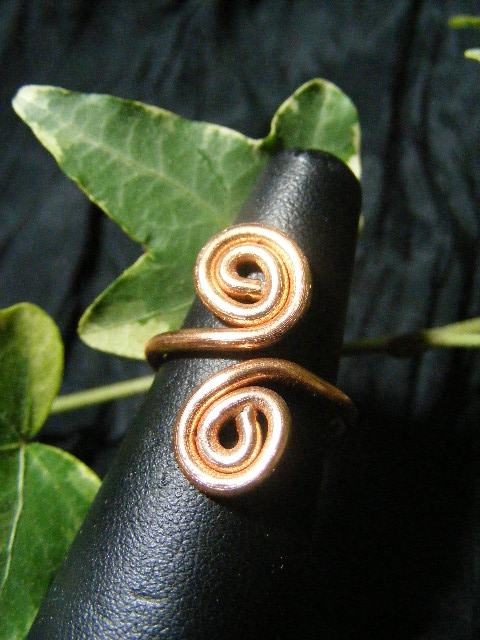 copper aluminum spiral ring adjustable