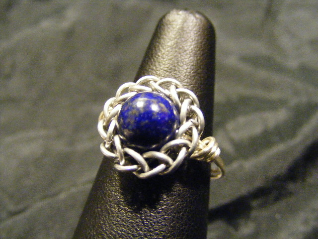 persian lapis ring