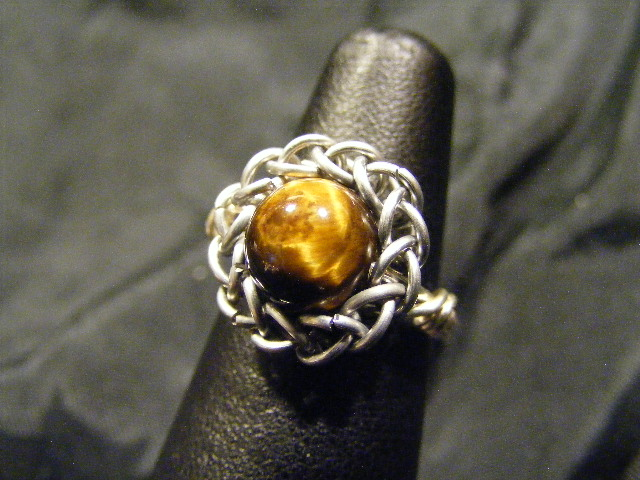 persian sphere tigers eye