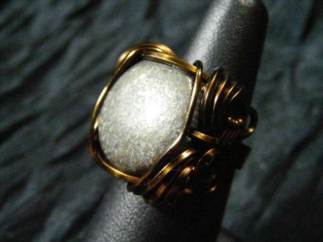 pyrite standard form ring view