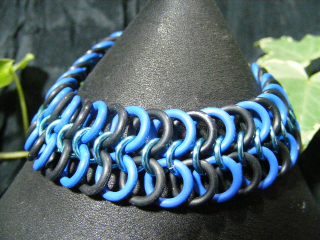 tones of blue 4-1 bracelet